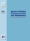 Journal of Machine Construction and Maintenance 4/2018